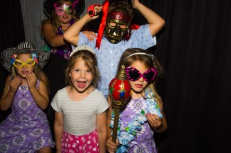 Kids Have the Best Time at Photobooths