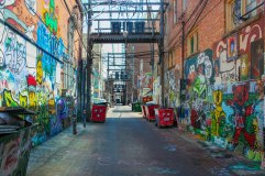 Rapid City Graffitti Alley